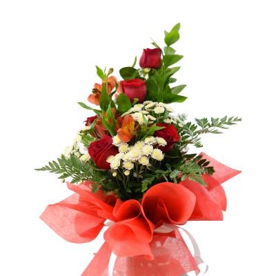 Букет с розами (№3)