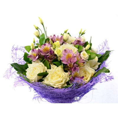 Букет с розами (№6)