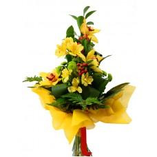 Букет с орхидеями ( №4)