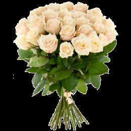 Букет уральских роз 60см - 15 шт.