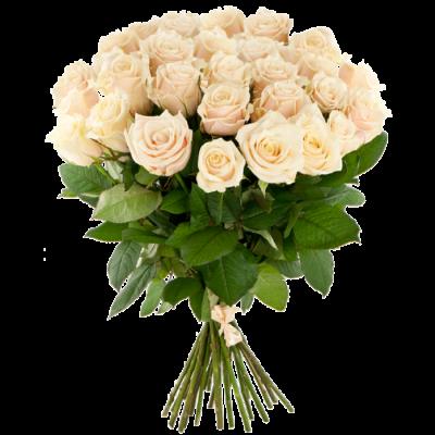 Букет уральских роз 60см - 25 шт.